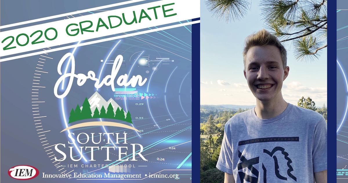 Graduate Spotlight: Jordan B.
