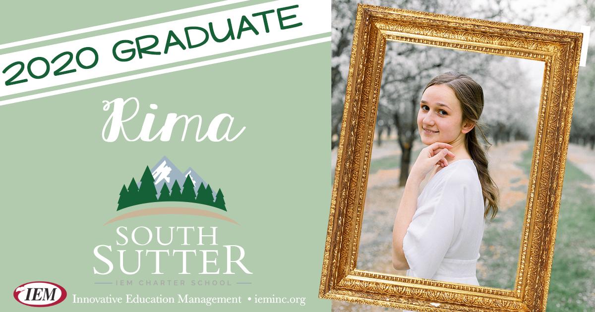 Graduate Spotlight: Rima S.