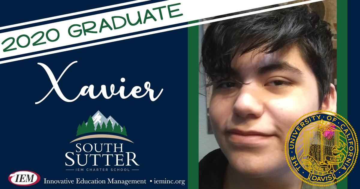 Graduate Spotlight: Xavier