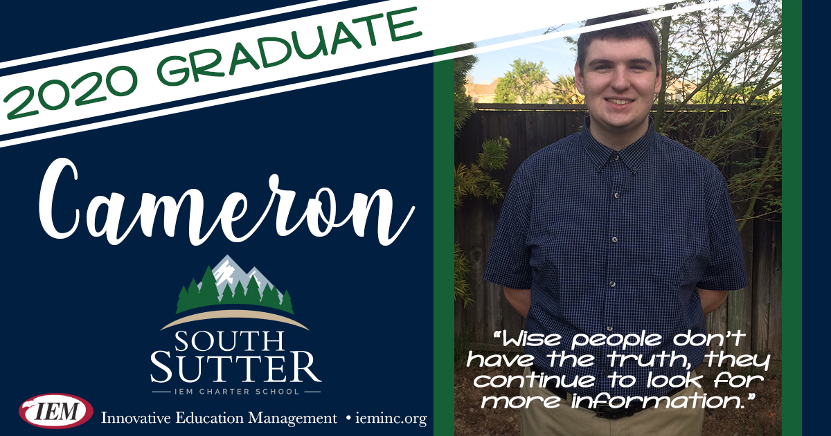 Graduate Spotlight: Cameron G.