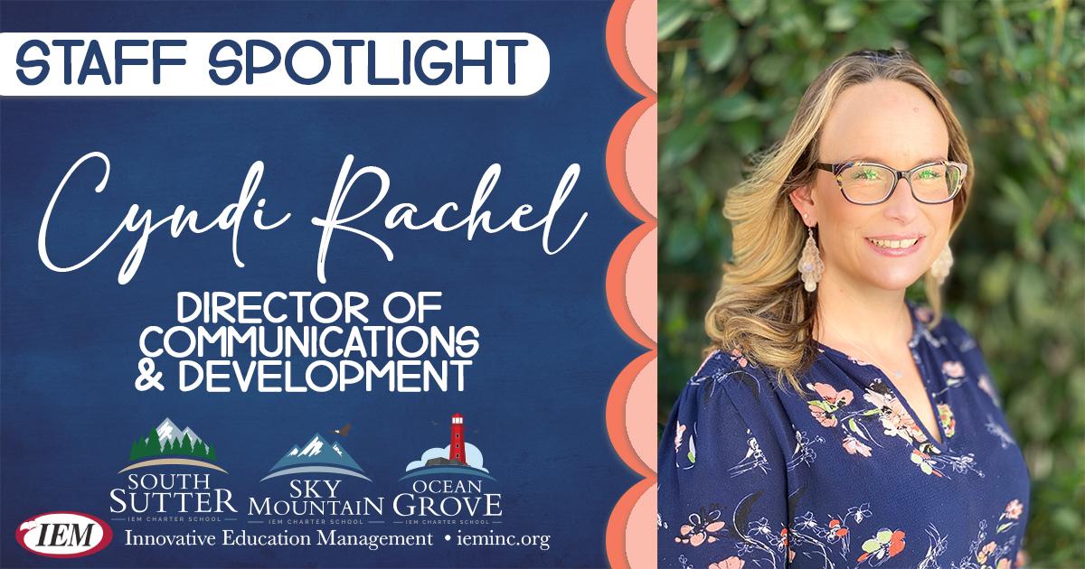 Employee Spotlight: Cynthia Rachel