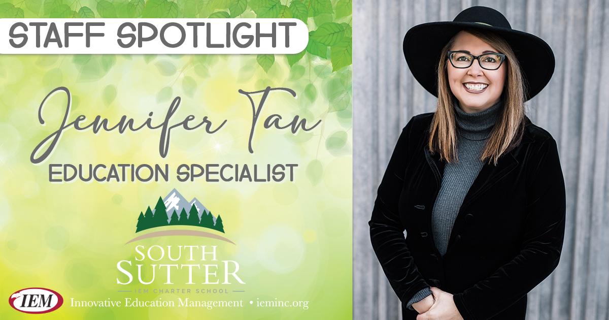Staff Spotlight: Jennifer Tan