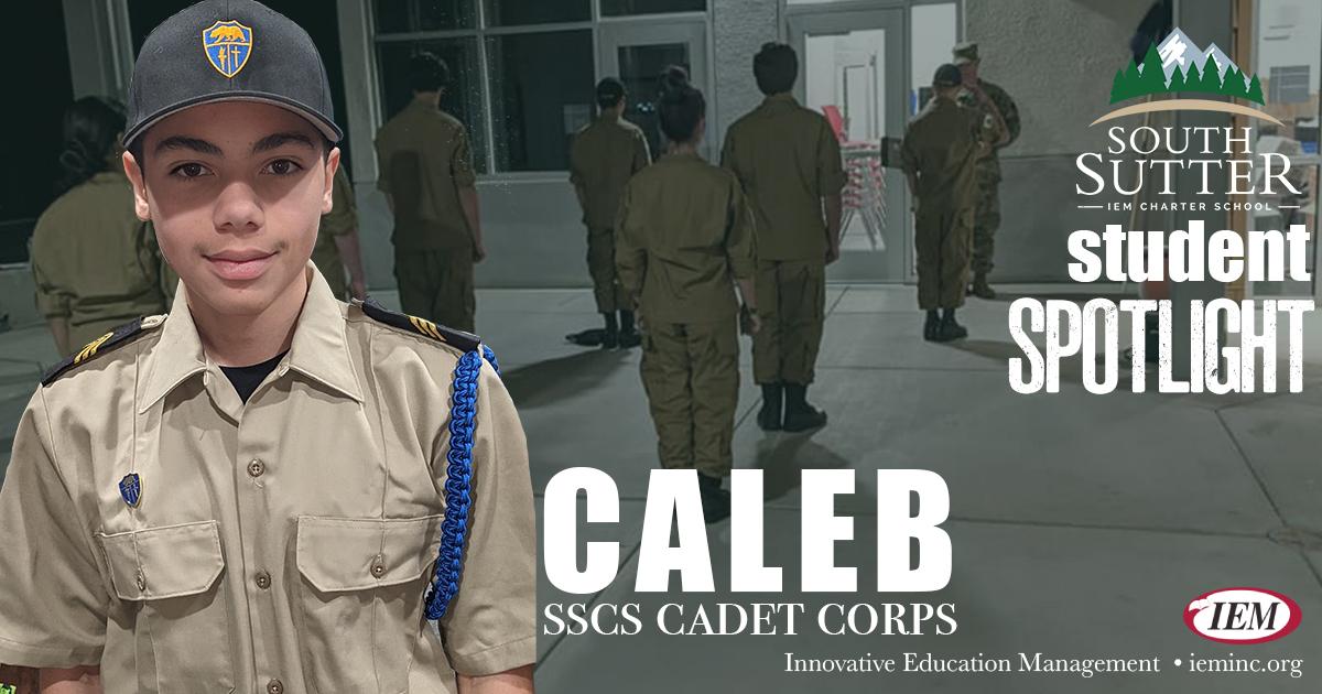 Student Spotlight:  Caleb S.