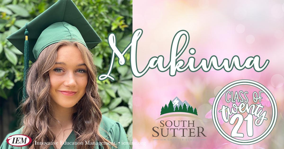 Graduate Spotlight: Makinna D.