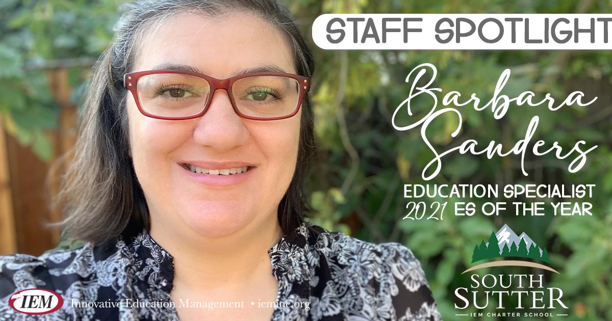 Staff Spotlight: Barbara Sanders