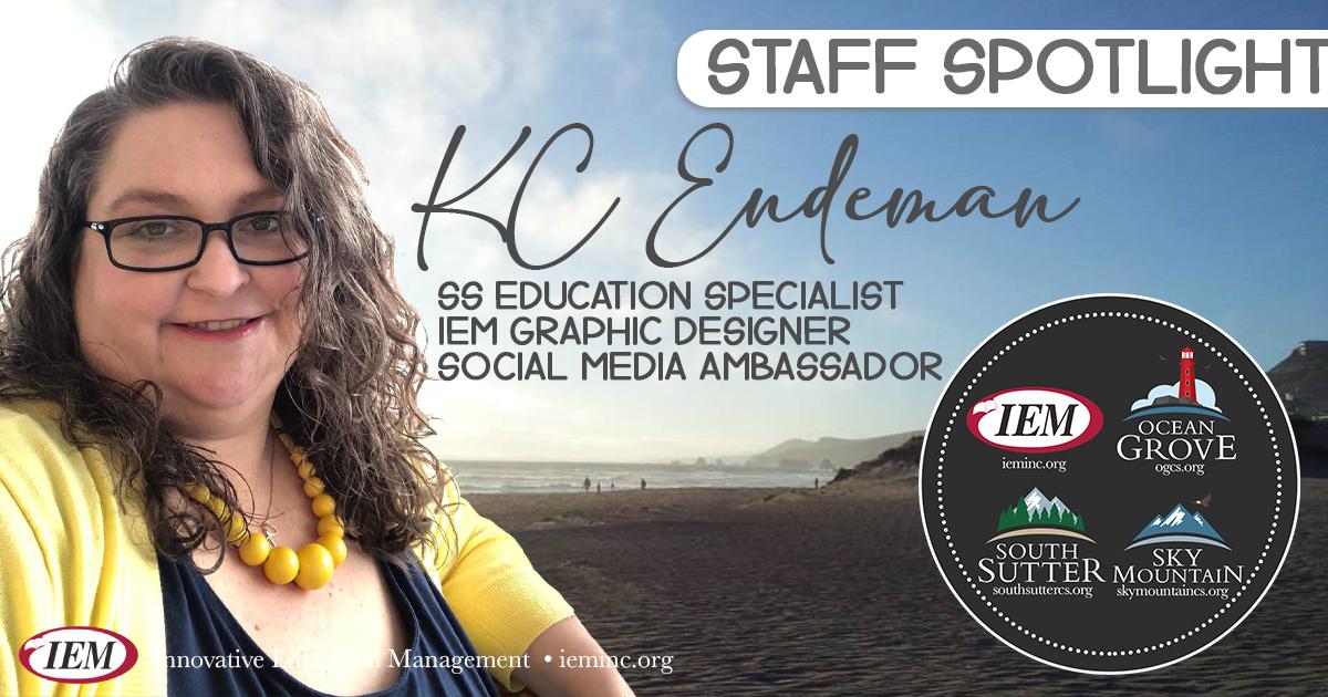 Staff Spotlight: KC Endeman