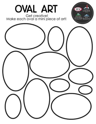 Oval art