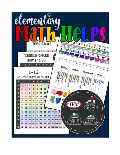 Elementary Math Helps